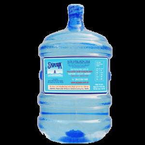 Nước uống tinh khiết Sapuwa 19 lít