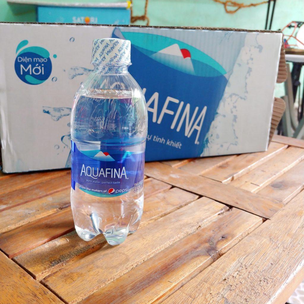 Chai nước suối Aquafina 355ml